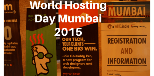 World Hosting Day WHD Mumbai India 2015