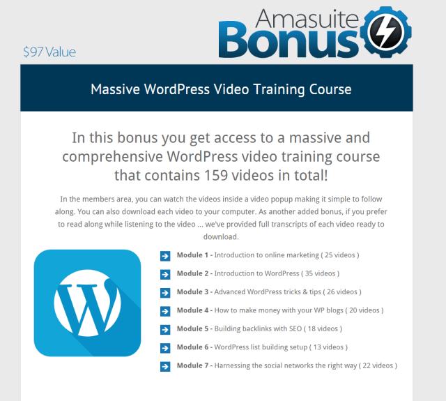 AmaSuite Bonuses 2