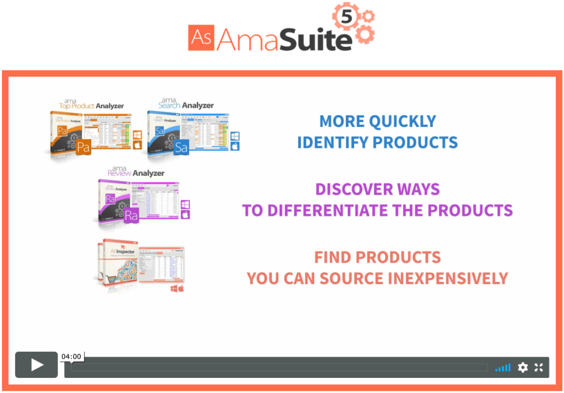 AmaSuite Review- Ultimate Amazon Selling Tool