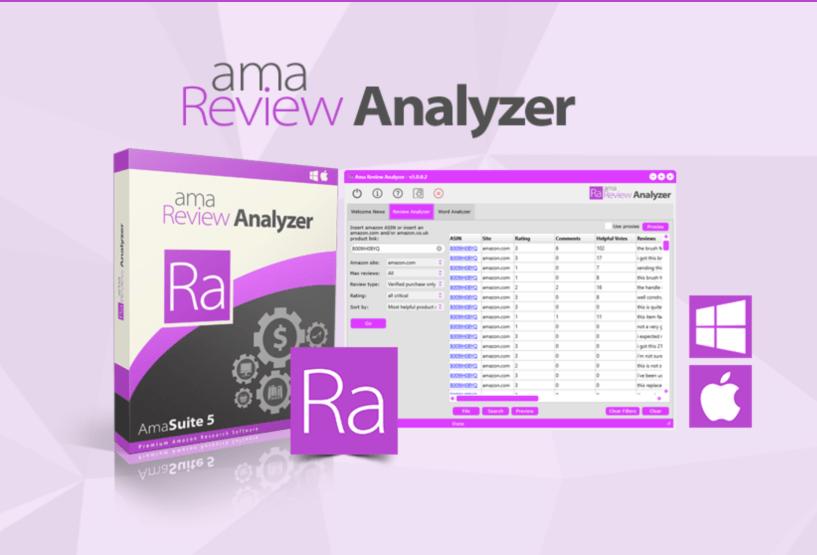 AmaSuite - Search Analyzer