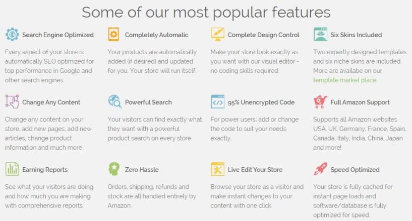 FreshStore additional features