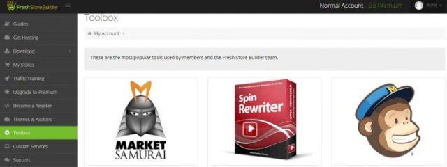 FreshStore toolbox