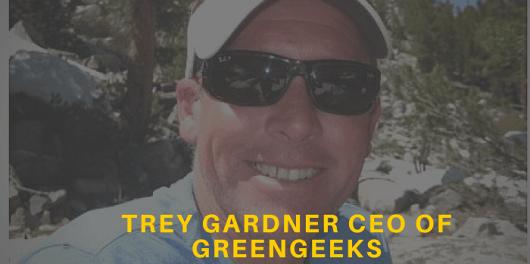 Trey Gardner CEO of GreenGeeks