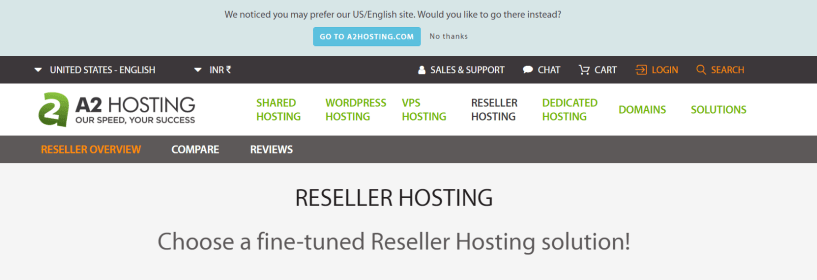 A2Hosting- Best Reseller Hosting