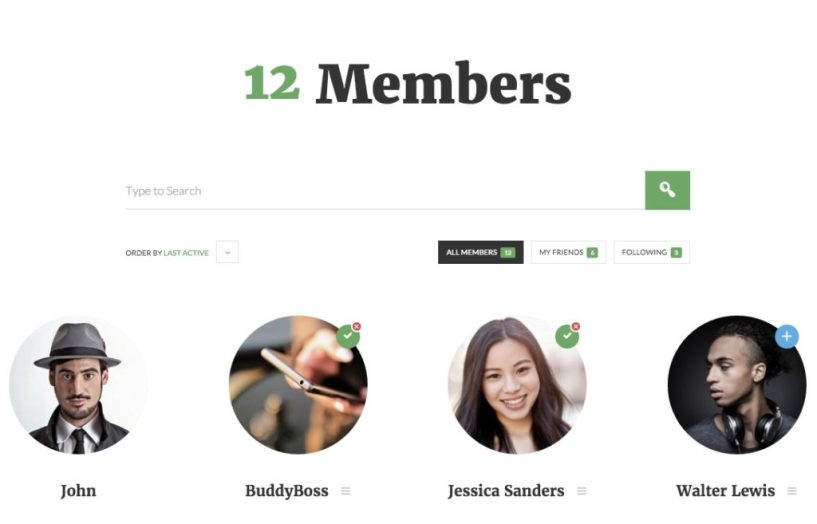 OneSocial A Refreshing BuddyPress theme for all types of BuddyPress sites (1)