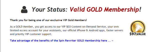 Spin Rewriter 6.0 Your Account and Subscriptions