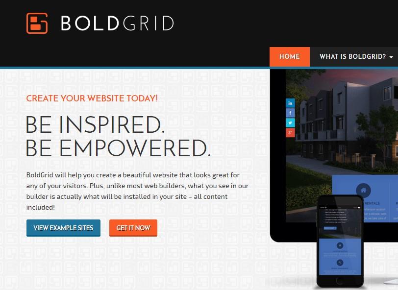 BoldGrid Review - Create a Web Site