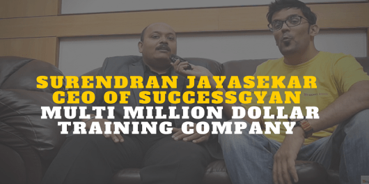 Surendran Jayasekar CEO of SuccessGyan