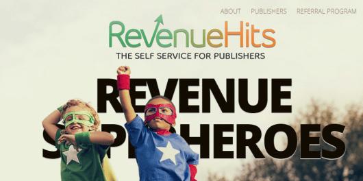 RevenueHits   ad network