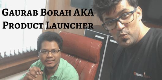 Gaurab Borah AKA Product Launcher Jvzoo