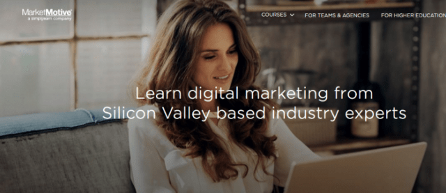 Market Motive Digital Marketing Training Certification Courses