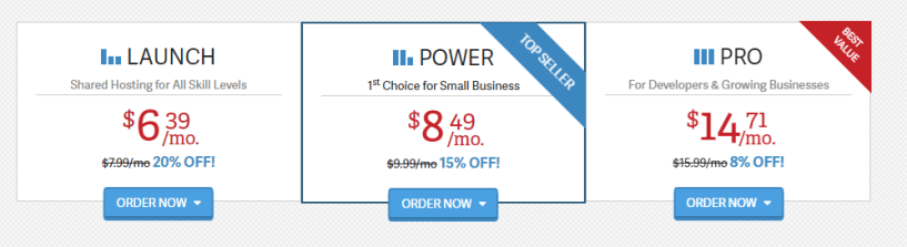 Inmotion cPanel pricing