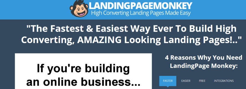 LandingPage Monkey Review Features