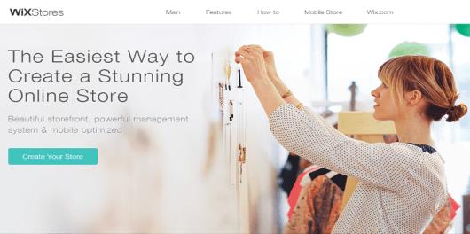 Wix Online Store