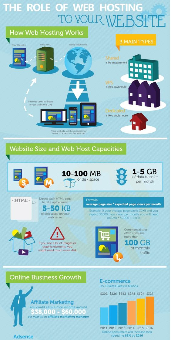 role of web hosting