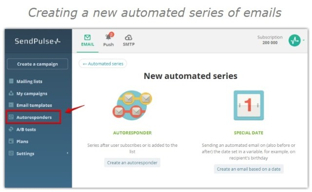 creating-a-new-autoresponding-series-of-emails sendpluse review