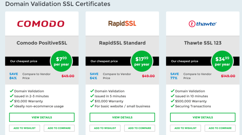 SSL Dragon Certificates