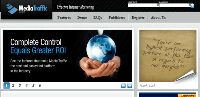 Media Traffic CPV PPV Contextual Advertising