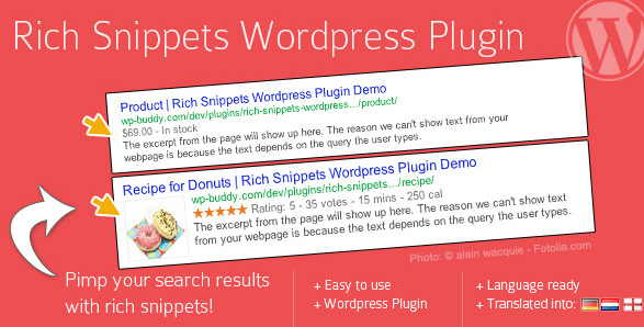 Rich Snippets WordPress Plugin by wpbuddy CodeCanyon
