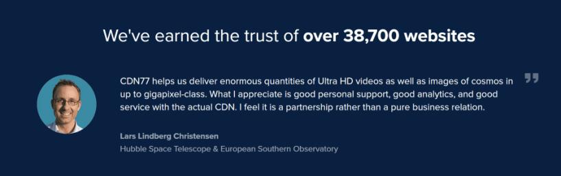 CDn77 trust
