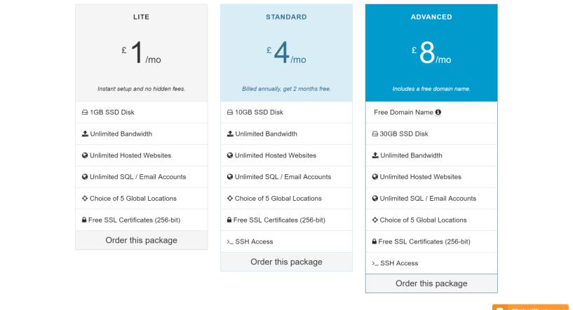 Hostmedia hosting packages cloud hosting