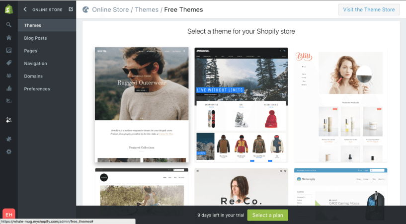 Shopify Plus Review features screenshots themes