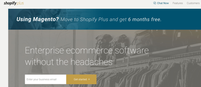 Shopify Plus Review - best shopping cart solutions
