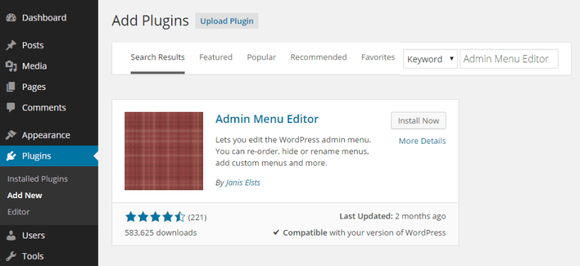 Add plugin In WordPress