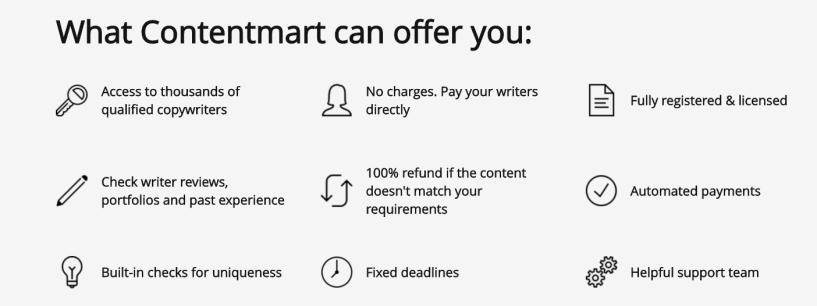 Content Mart services