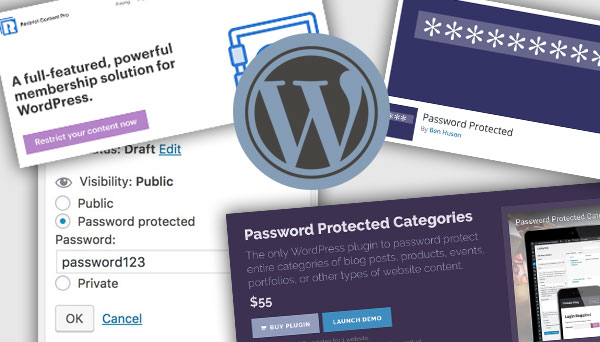 Featured Image - WordPress Password Protect Plugins