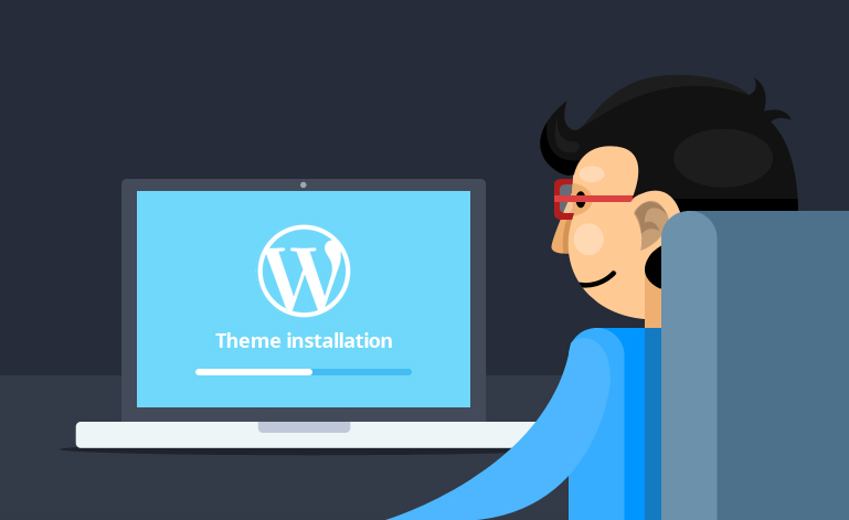 Wordpress Theme - Building a website