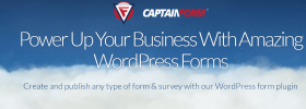 captainform wordpress review