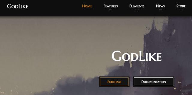 godlike themes gaming