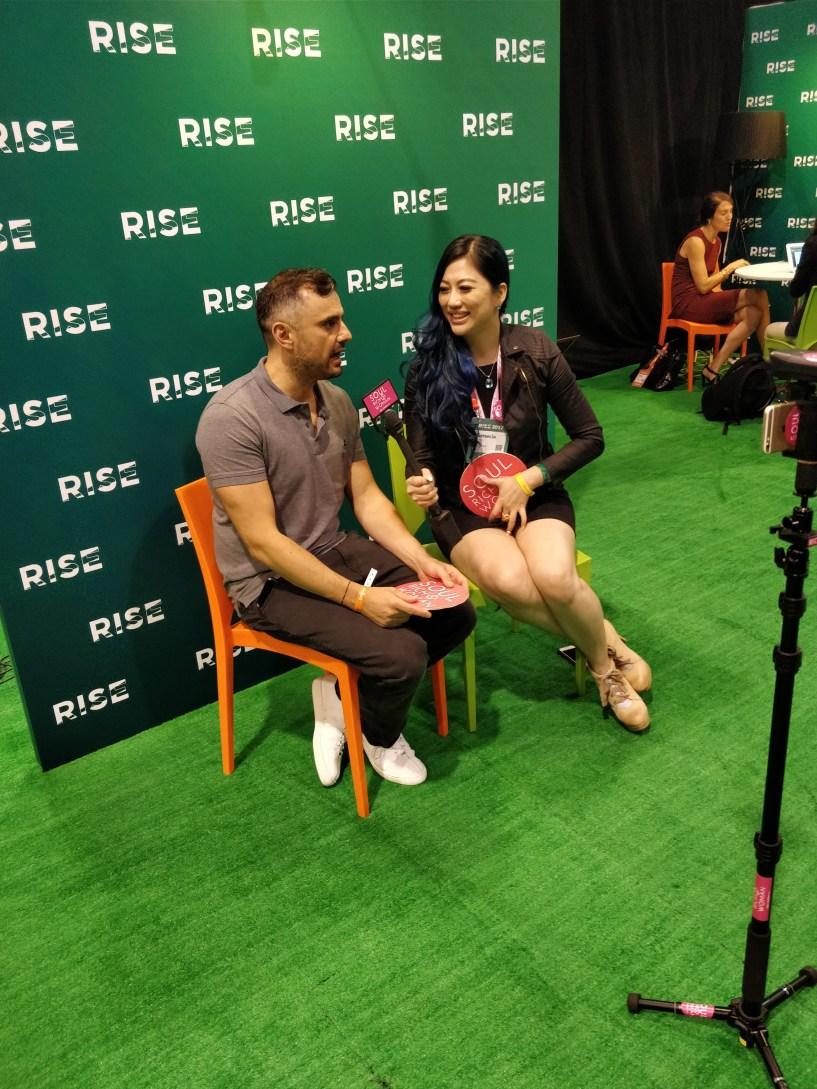 Genecia Alluora Interviewing Gary Vee