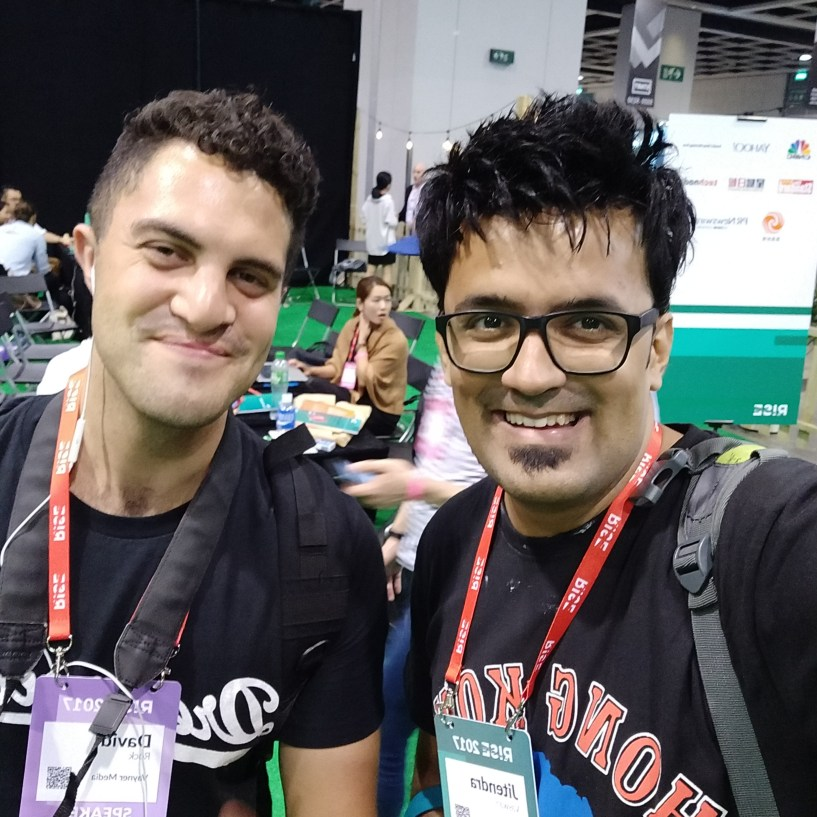 With Drock Video director at GaryVEE Show