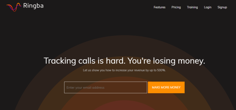 Ringba Review - Enterprise Call Tracking Software.
