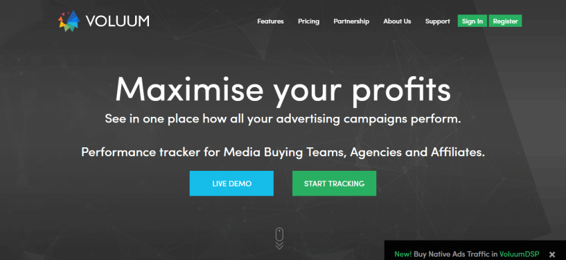 Voluum - Performance marketing tracker