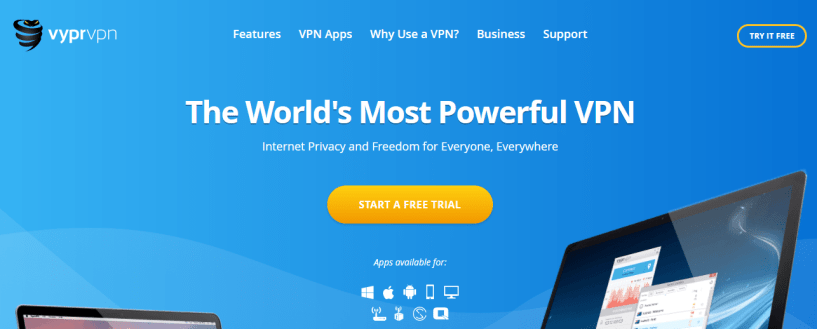 VyprVPN - Top vpn service for Windows