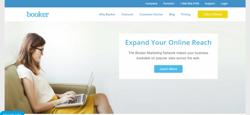 Best Online Appointment Booking Software - Booker Marketing Network