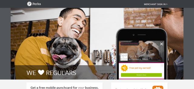 Perka Mobile Loyalty App