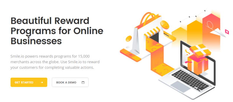 Smile.io - best loyalty software