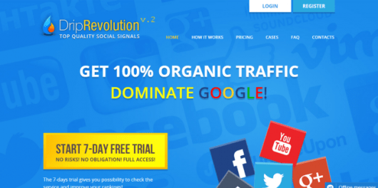 Social Signals for SEO - Driprevolution Review