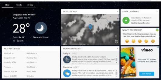 Weather Forecasts Radar News - WeatherBug Review