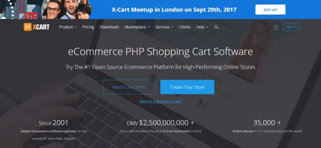 X-cart - best Shopping Cart Software