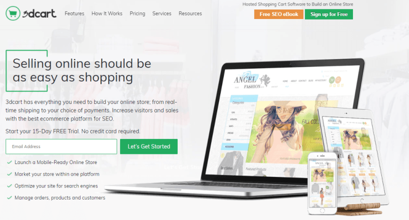 best Shopping Cart Software - eCommerce Software by 3dcart