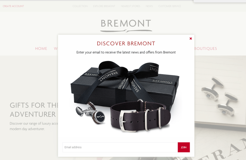 bremont - shopify store