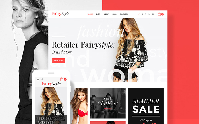 Fairy Style - Fashion Store WooCommerce Theme