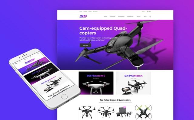 Moox - Drone Shop WooCommerce Theme