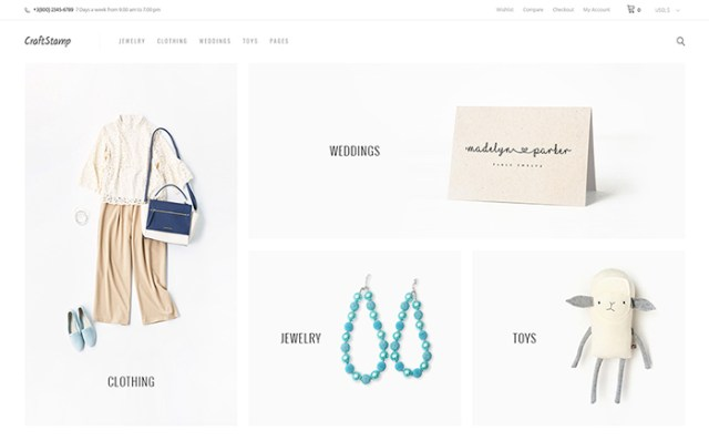 Craftstamp - Handmade Art Store WooCommerce Theme