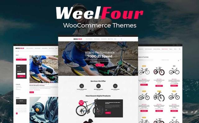 WeelFour - Bike Store Responsive WooCommerce Theme